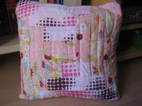 Logcabin pillow