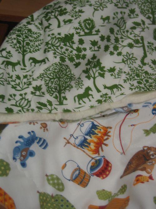 Mini quilt fabrics