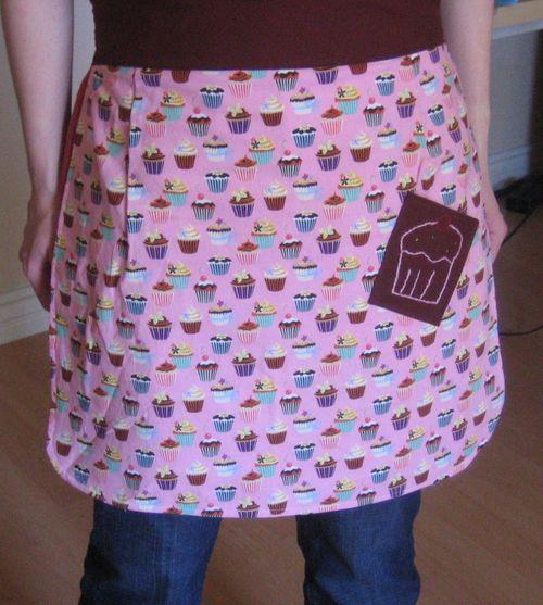 Cupcake apron done
